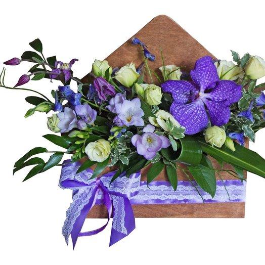 Письмо о ваших чувствах: букеты цветов на заказ Flowwow