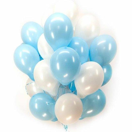 Воздушный сет из 30 шаров: букеты цветов на заказ Flowwow