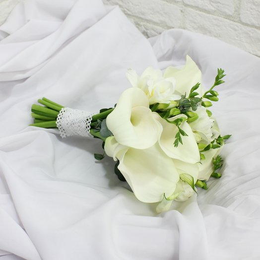 Свадебный букет 23: букеты цветов на заказ Flowwow