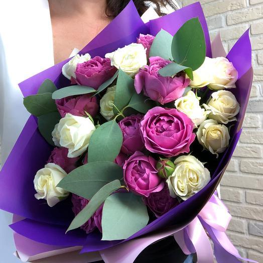 Дабл баблс: букеты цветов на заказ Flowwow