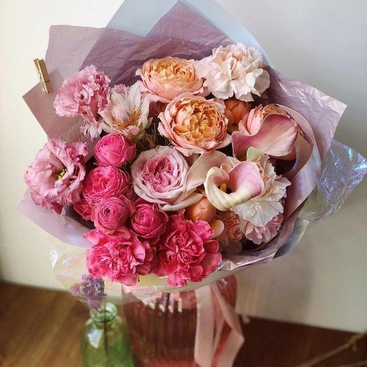 Букет Сахарная вата: букеты цветов на заказ Flowwow