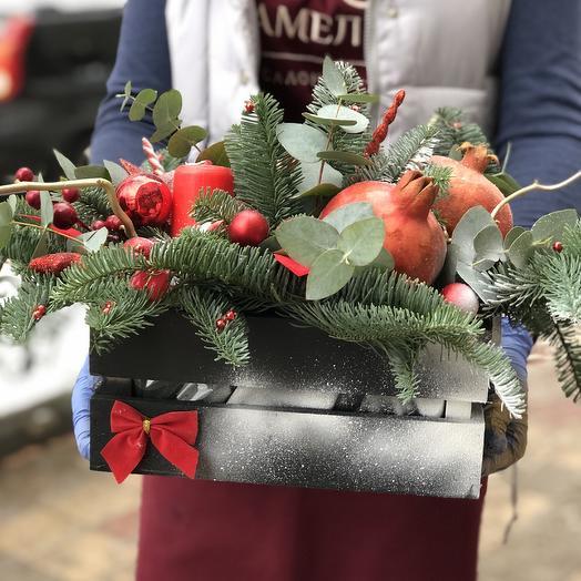 Рождественское чудо: букеты цветов на заказ Flowwow