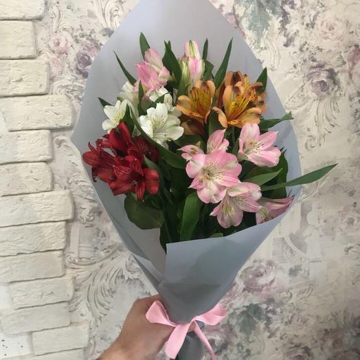 Букет 124: букеты цветов на заказ Flowwow