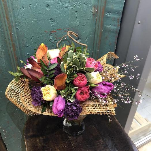 Весна приходит: букеты цветов на заказ Flowwow