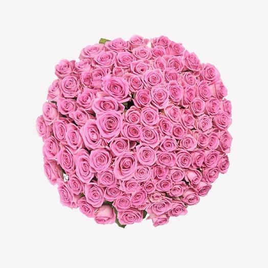 Pink 101: букеты цветов на заказ Flowwow