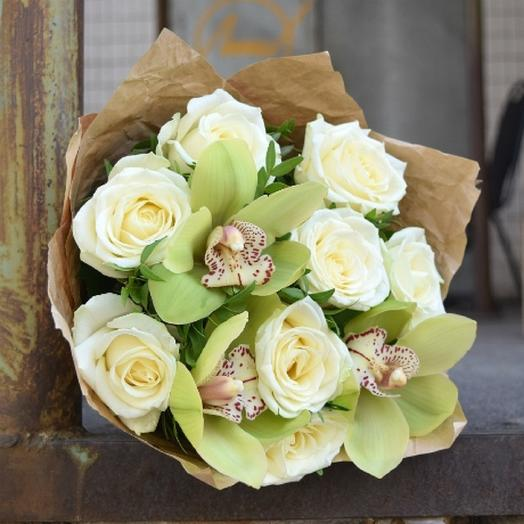 Белый бриз: букеты цветов на заказ Flowwow