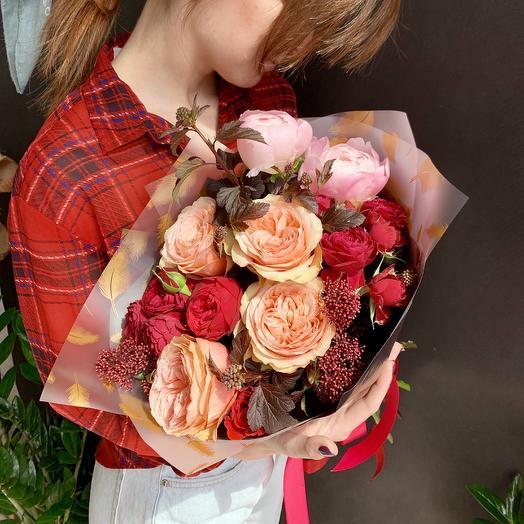 «Богемская рапсодия»: букеты цветов на заказ Flowwow