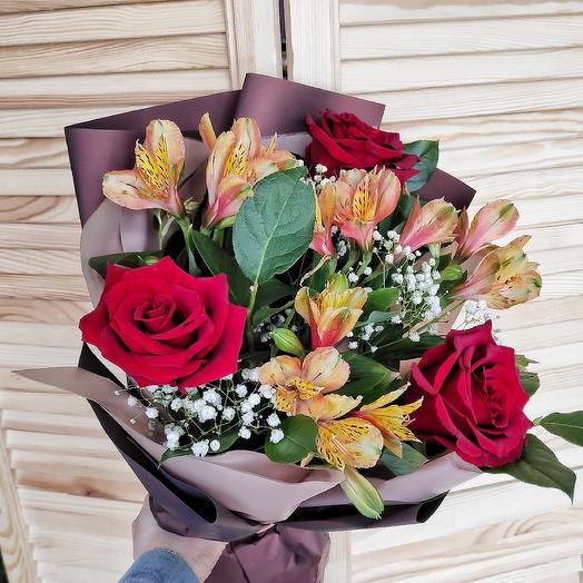 Аппетитный десерт: букеты цветов на заказ Flowwow