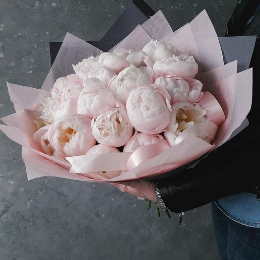 Лучшие пионы️: букеты цветов на заказ Flowwow