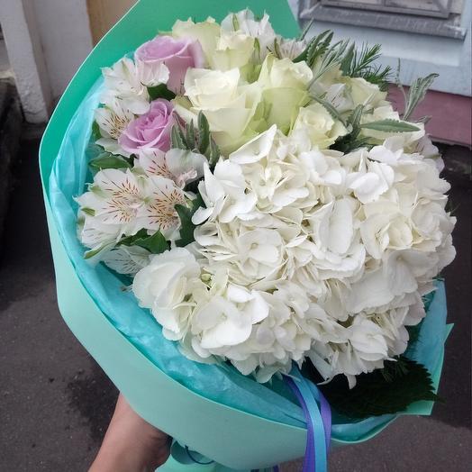 Мятное удовольствие: букеты цветов на заказ Flowwow