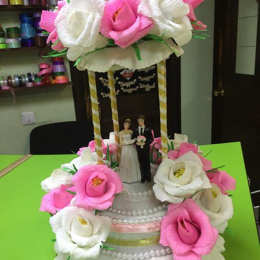 Свадебная поляна из конфет: букеты цветов на заказ Flowwow