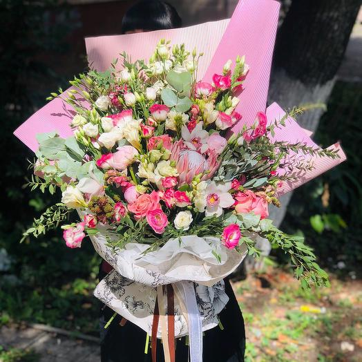 Шикарный гигант🌿: букеты цветов на заказ Flowwow