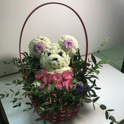Цветочная мышка: букеты цветов на заказ Flowwow