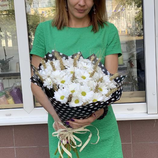 Ромашковое облако: букеты цветов на заказ Flowwow