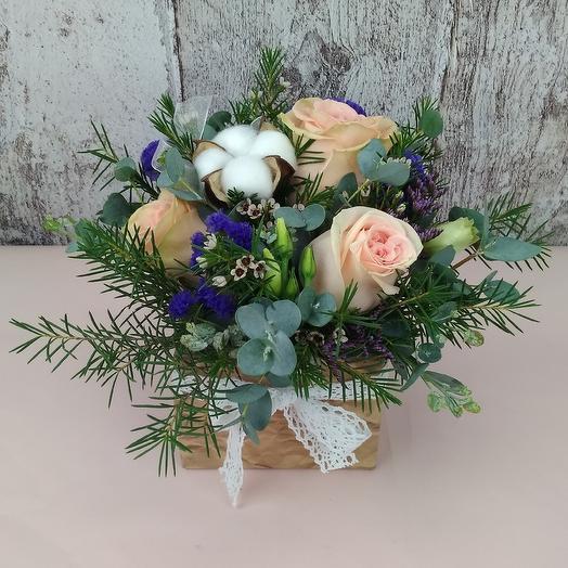 Персиковый сад: букеты цветов на заказ Flowwow