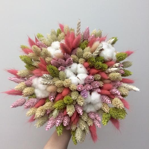 Букет из сухоцветов 3: букеты цветов на заказ Flowwow