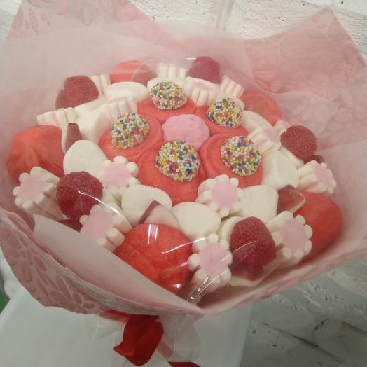 Сладкий букет 1: букеты цветов на заказ Flowwow