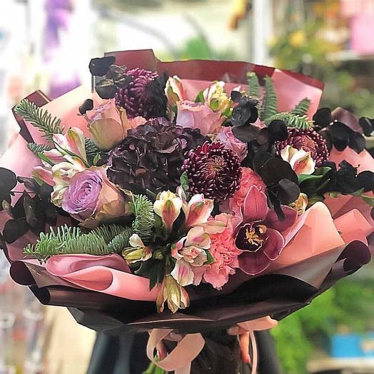 Зимняя прогулка: букеты цветов на заказ Flowwow