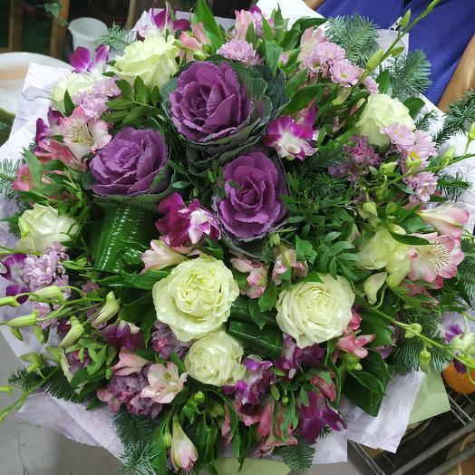 "Шикарный букет ""Романтика"": букеты цветов на заказ Flowwow"