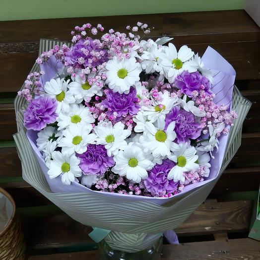 Счастье в букете: букеты цветов на заказ Flowwow