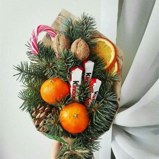 Сладкий Новый Год: букеты цветов на заказ Flowwow