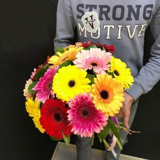 Букет из 15 Гербер: букеты цветов на заказ Flowwow