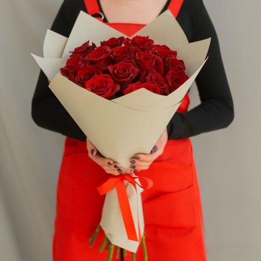 Красные розы 22