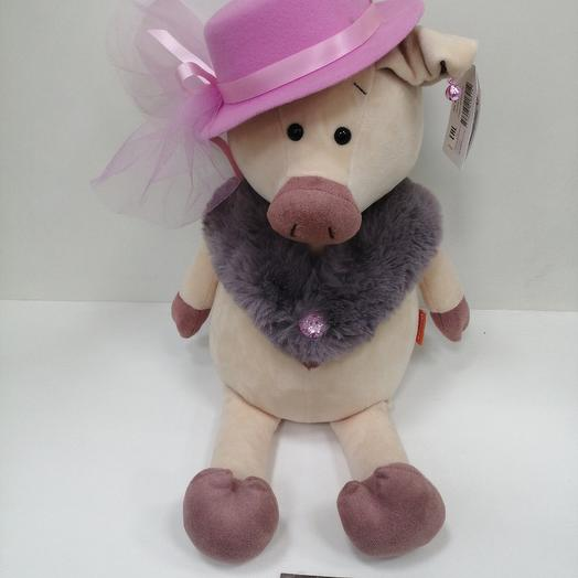 Ф свинка в шляпе: букеты цветов на заказ Flowwow