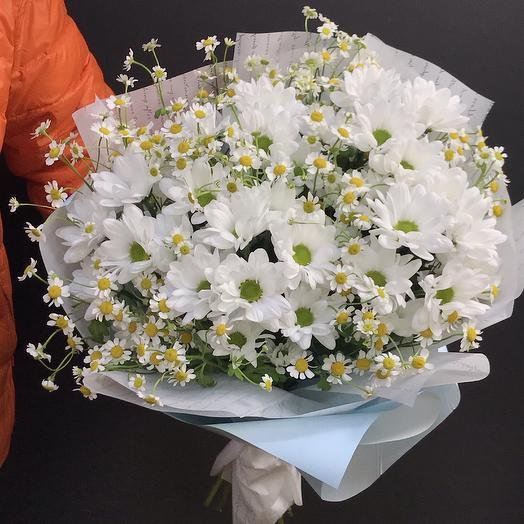 Ромашкин луг: букеты цветов на заказ Flowwow