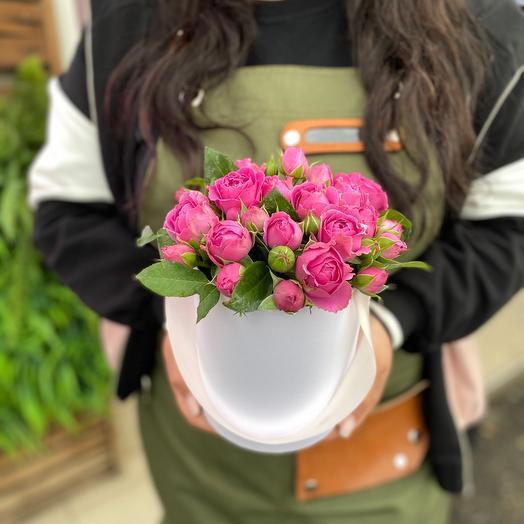 Цветы в коробке «Мисти»