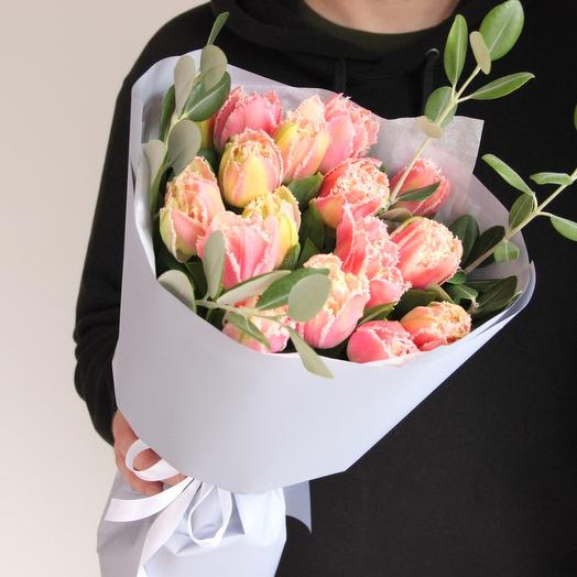 Кружевные тюльпаны