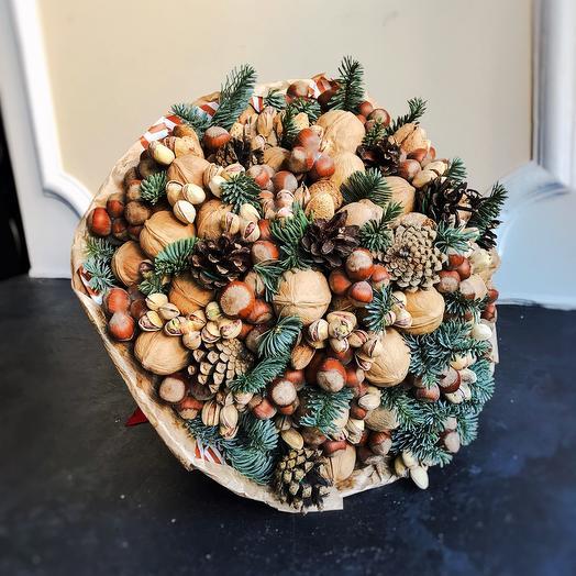 """Walnut winter bouquet """" Forest fairy tale"""""""