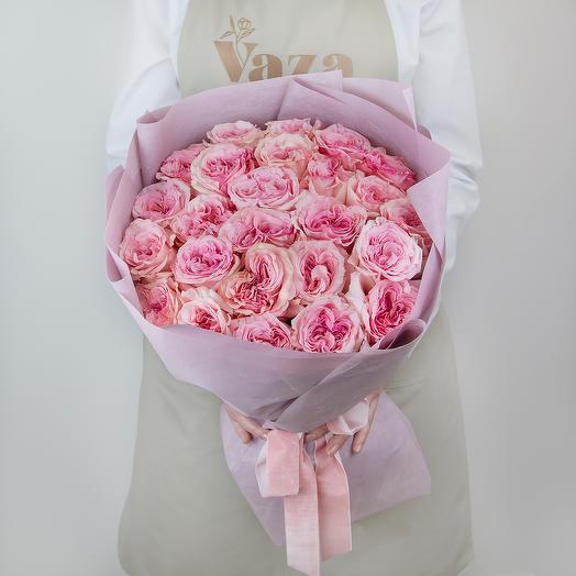 25 роз Pink O Hara