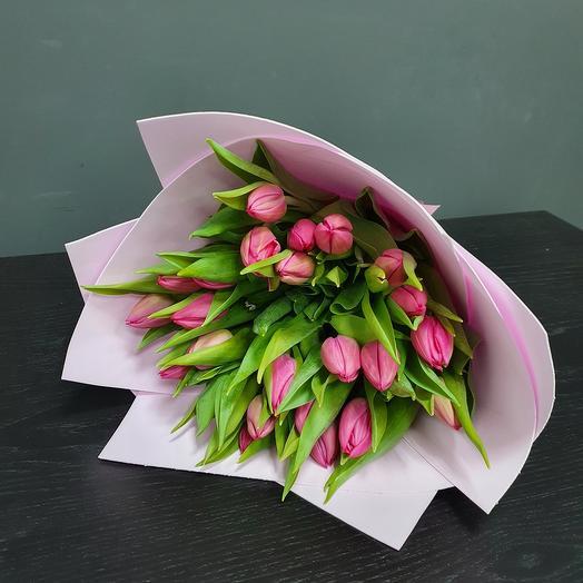 Букеи пионовидных тюльпанов