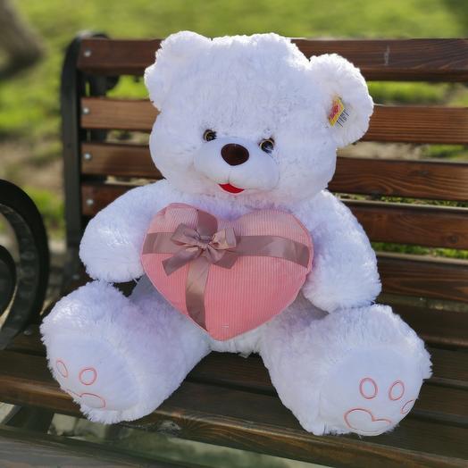 Bear with a heart