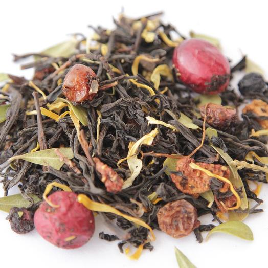 Чёрный чай Северная ягода