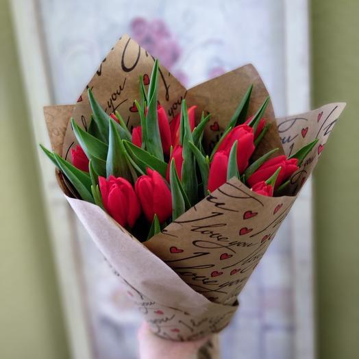 15 тюльпанов 🎀