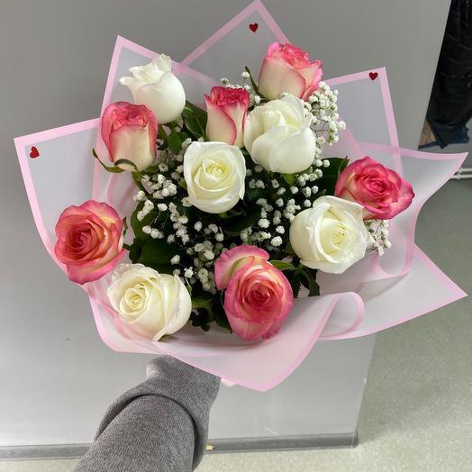 Букет из роз-Любимка