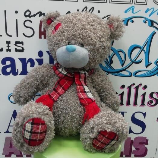 Мягкая музыкальная игрушка медведь Тедди