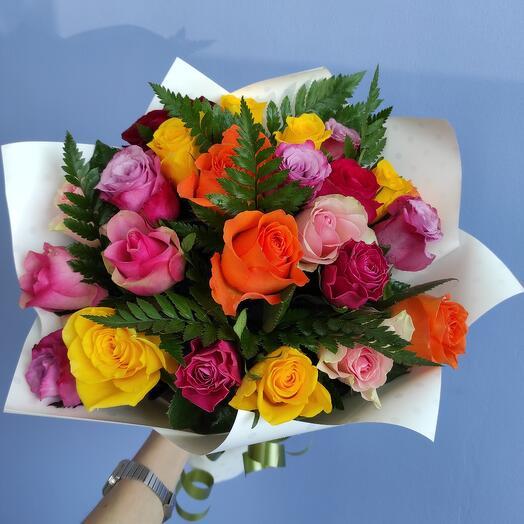 """""""Вторая симфония"""" - букет из 23 кенийских роз"""