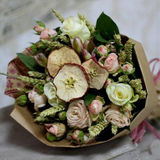 Яблочный букет: букеты цветов на заказ Flowwow