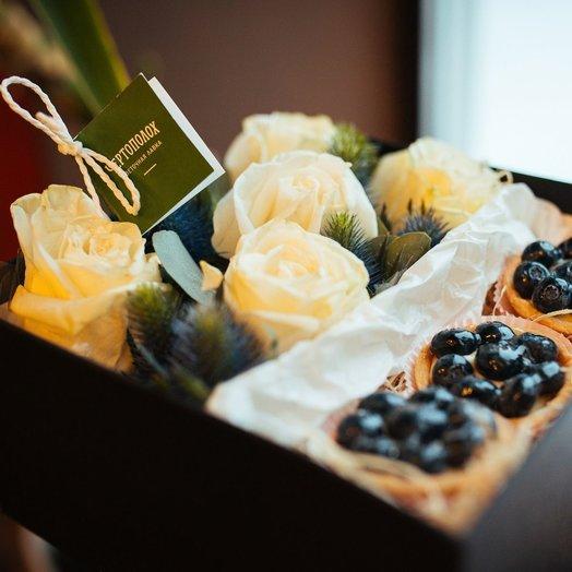 Сладкая нежность: букеты цветов на заказ Flowwow