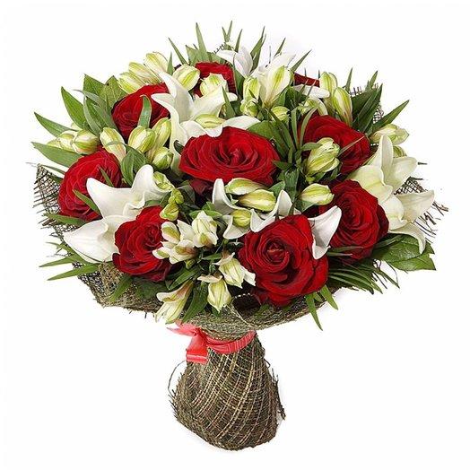 Букет  Алла: букеты цветов на заказ Flowwow