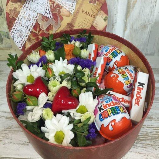 Сластена: букеты цветов на заказ Flowwow