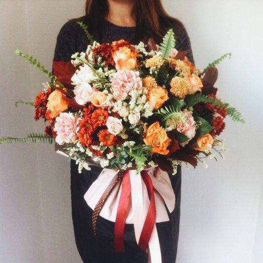 Осень в Италии: букеты цветов на заказ Flowwow