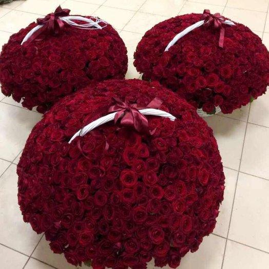 """Вип корзины """"Прямо в сердце"""": букеты цветов на заказ Flowwow"""