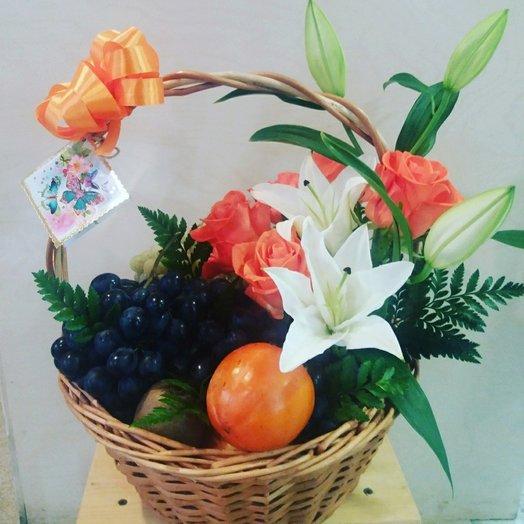Фруктовый флер: букеты цветов на заказ Flowwow