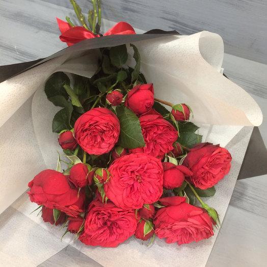 Пионовидные розы: букеты цветов на заказ Flowwow