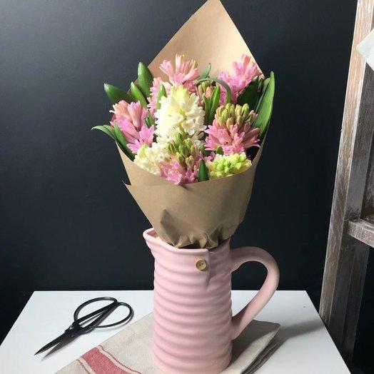 9 Прекрасных Гиацинтов: букеты цветов на заказ Flowwow