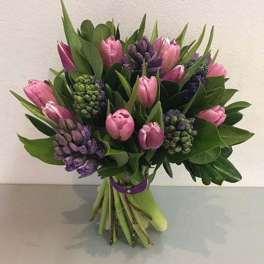 """Букет """"Dream of spring"""": букеты цветов на заказ Flowwow"""